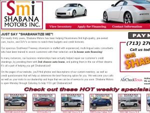 Shabana Motors 9811 Southwest Fwy